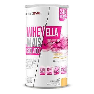 Whey Protein Ella Isolado, sabor Banana Flambada - 400g