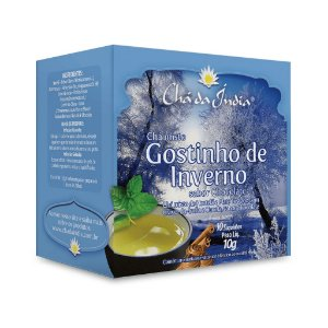 Chá Misto Gostinho de Inverno sabor Chocolate - Chá da Índia – 10 Sachês