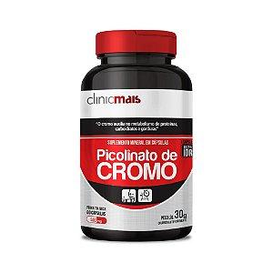 Picolinato de Cromo em cápsulas - 60 caps  30g - ClinicMais
