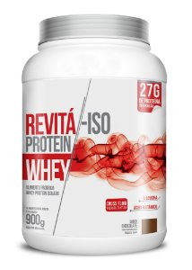 Whey Revita Iso Protein sabor Chocolate - CháMais - 900g