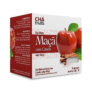 Chá Misto de Maçã com Canela - CháMais - 10 Sachês