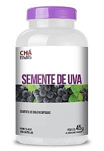 Semente de Uva em cápsulas - CháMais -  100 caps