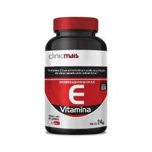 Vitamina E em cápsulas - ClinicMais - 60 caps