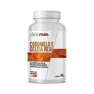 Cogumelo e Geleia Real  em cápsulas - ClinicMais - 100 caps