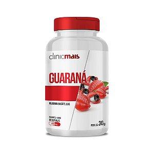 Guaraná em cápsulas - 60 caps - 30g - ClinicMais