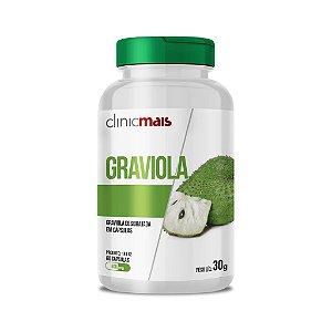 Graviola desidratada em cápsulas - 60 caps - 30g - ClinicMais