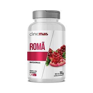 Romã em cápsulas - 60 caps - 30g - ClinicMais
