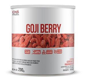 Goji Berry sabor Cereja e Framboesa Solúvel - CháMais - 200g