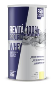 Whey Revita Protein Concentrate sabor Baunilha - CháMais - 400g