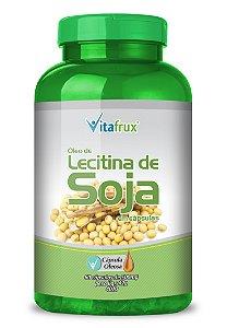 Lecitina de Soja em cápsulas - Vitafrux - 60 caps