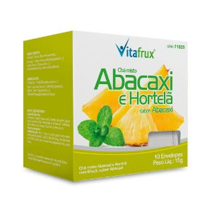 Chá Misto de Abacaxi e Hortelã - Vitafrux - 10 Sachês