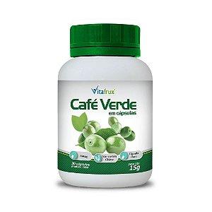 Café Verde em cápsulas - Vitafrux - 30 cáps