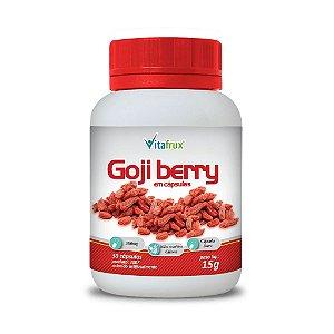 Goji berry em cápsulas - Vitafrux - 30 caps