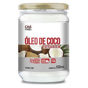 Óleo de Coco - Extravirgem - CháMais - 500mL