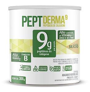 PeptDerma9 sabor Abacaxi e Hortelã - Solúvel - CháMais - 300g