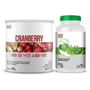 Combo - Solúvel de Cranberry e cápsulas Alive Lax