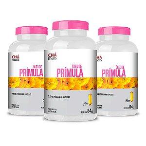 Combo 3 Potes - Óleo de Prímula em cápsulas - 60 cápsulas - ClínicMais