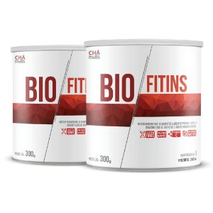 Combo 2 latas - Solúvel Bio Fitins - 300g - ClínicMais