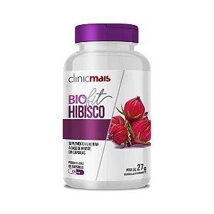 BioFit - Hibisco em cápsulas - 60 caps - 27g - ClinicMais