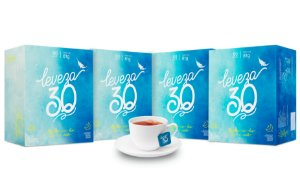 Chá misto Leveza 30 - 4 caixas de 60 sachês