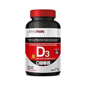 Vitamina D3 - Suplemento alimentar em cápsulas - 30 caps - 21g - ClinicMais