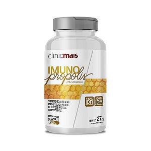 Imuno Própolis com Vitaminas em cápsulas - 60 caps - 27g - ClinicMais
