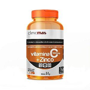 Vitamina C + Zinco em cápsulas - Clinic Mais