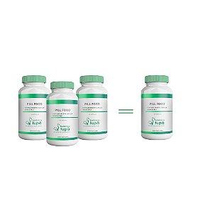 Pill Food - Fortalecimento Capilar e das Unhas - Compre 3 e leve 4 frascos