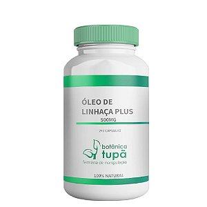 Óleo de Linhaça - 500 mg - Ômegas 3, 6 e 9 - Colesterol