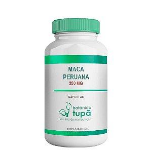 Maca Peruana 250 mg Restaurador físico e psicológico