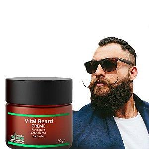Creme com Ativo de Crescimento para Barba - Vital Beard