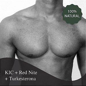 KIC + Turkesterona + Red Nite - Ganho de força muscular