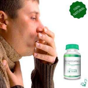 Resveratrol 20 mg - protege o organismo contra doenças