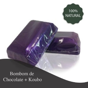 Bombom de Chocolate 10g com Koubo - 300 mg - Redução da vontade de comer doces
