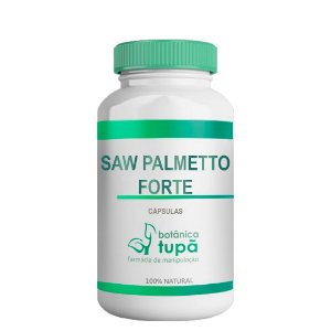 Saw Palmeto Forte - Auxiliar para Disfunções da Próstata