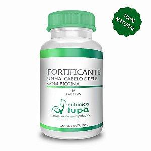 Fortificante de Unha, Cabelo e Pele com Biotina