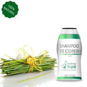 Shampoo de Melissa (Cidreira) - 250 ml