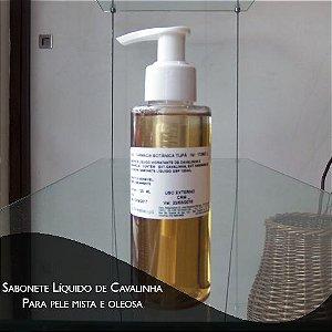 Sabonete Liquido- Cavalinha e Hamamelis - 120 ml - Pele Mista e Oleosa