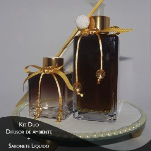 Kit Sabonete Liquido de Hamamelis e Difusor - Diversos