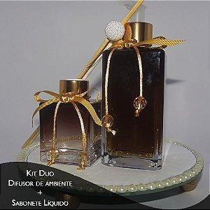 Kit Sabonete Liquido de Menta com Erva Doce e Difusor - Diversos