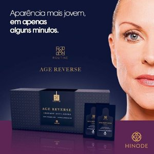 Routine Age Reverse Instant Anti-Aging - Caixa c/ 20 Sachês de 0,3ml cada - Hinode