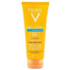 Protetor Solar Vichy Idéal Soleil Hydrasoft FPS 50