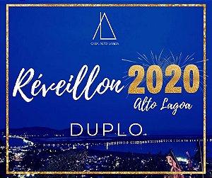 RÉVEILLON 2020 ALTO LAGOA - DUPLO 3º LOTE