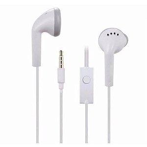 Fone de Ouvido Branco Samsung