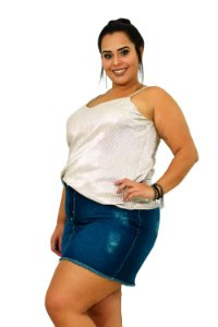 Saia Jeans Plus Size Upcycle