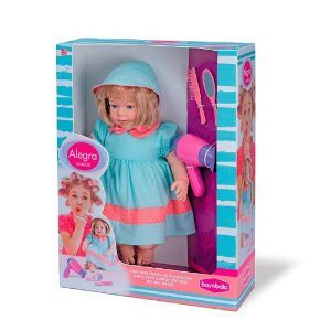 Boneca Alegra Fashion Bambola