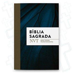 Bíblia Sagrada Nvt Azul Marinho - Letra Normal