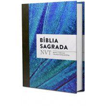 Bíblia Sagrada Nvt Azul Claro - Letra Normal