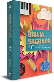 BÍBLIA SAGRADA NVT COLAGEM - LETRA NORMAL