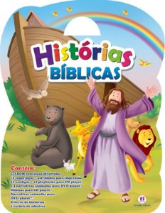 Maleta kit Histórias Bíblicas